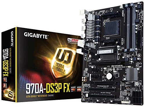 Picture of a GIGABYTE GA970ADS3P FX AMD AM3 889523010907