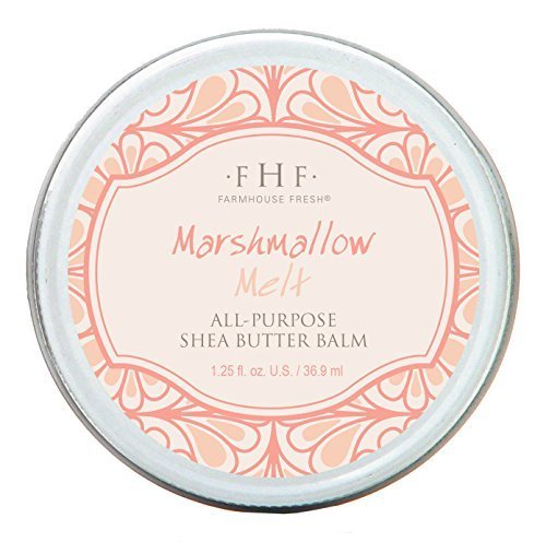 FarmHouse Fresh Marshmallow Melt All-Purpose Shea Butter Balm 1.25 Oz
