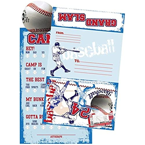 iscream 'Grand Slam' Summer Camp Fill-In Foldover Cards with Flip Stickers Sales