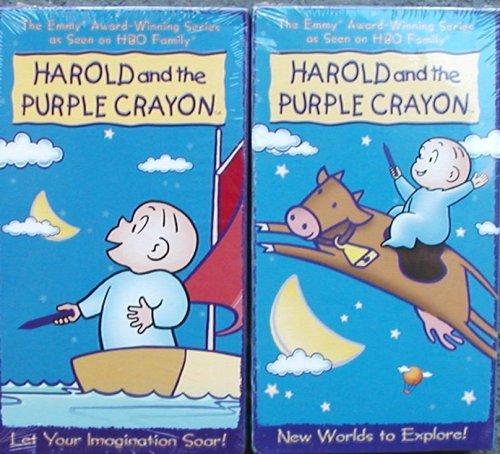 Amazon Com 2 Video Set Harold And The Purple Crayon Movies Tv