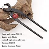 Root Cutter Concave Cutter Branch Cutter Tian Bonsai Tools Master Quality Carbon Steel 215 Mm (8.5'')