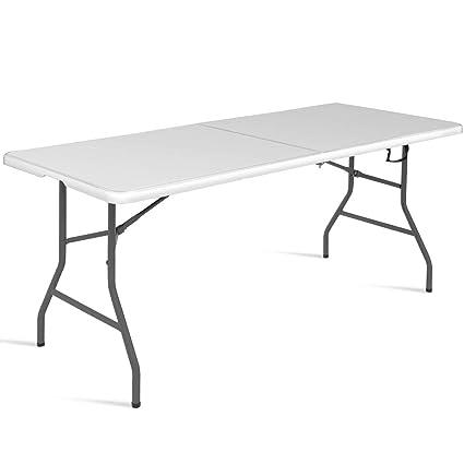 DREAMADE Table Pliante Portable en Plastique - Table de ...