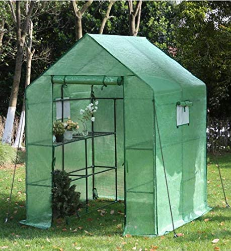 YOUKE Invernadero Portátil, Ideal para Jardín, Balcón, Patio etc, (143 x 143 x 195 CM): Amazon.es: Jardín