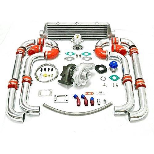 Universal Turbocharged Upgrade T04E T3 8pc Turbo Kit