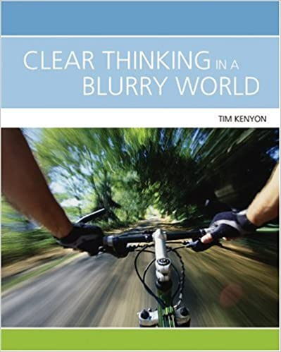 Book Clear Thinking in a Blurry World