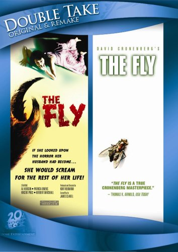 The Fly (1958) / The Fly (1986) (Double Take)