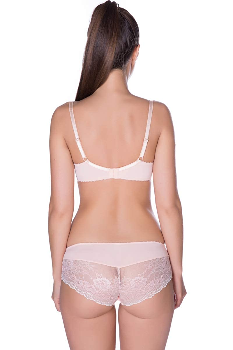 with Wires Padded Cup ROSE PETAL Bra Balconette