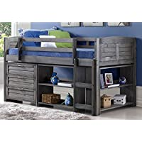 Twin Louver Low Loft Bed