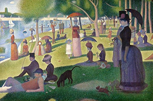 A Sunday Afternoon on the Island of La Grande Jatte - Georges Seurat. Art Print Poster (30
