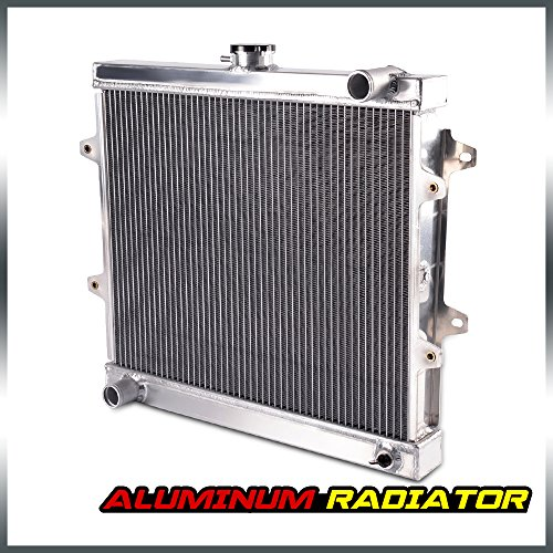 Racing Aluminum Cooling Radiator Replacement For Toyota Pickup 4Runner 2.4l L4 1984-1995 84 85 86 87 88 89 ()