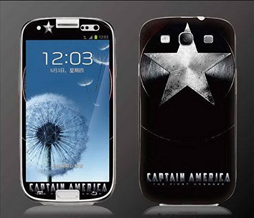 ''CAPTAIN AMERICA'' Screen Protective for Samsung S4 by Newmond (Image #1)