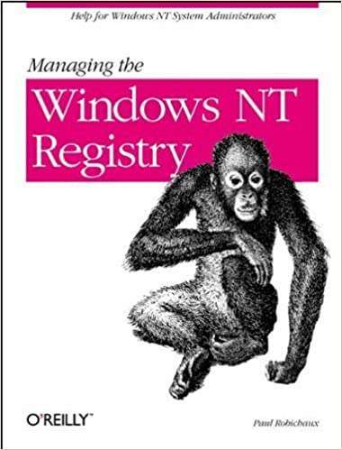 Téléchargements ebook gratuits google Managing the Windows NT Registry by Robichaux, Paul (1998) Paperback in French PDF CHM
