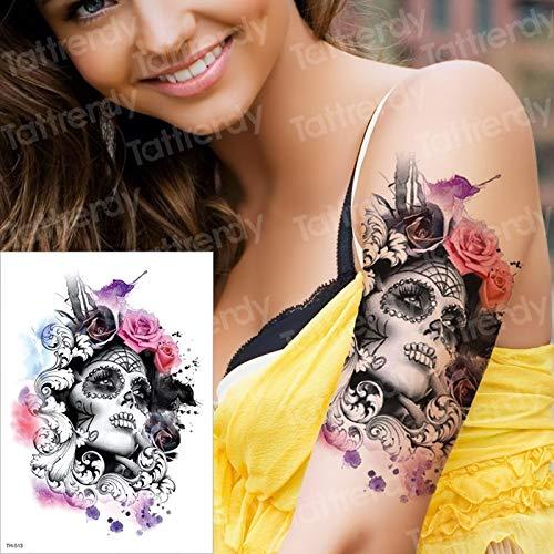 tzxdbh Tatuaje Temporal y Arte Corporal Etiqueta engomada del ...