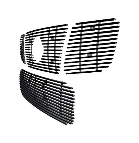 - Off Roader eGrille Matt Black Stainless Steel Billet Grille Combo Fits 04-07 Nissan Titan/Armada