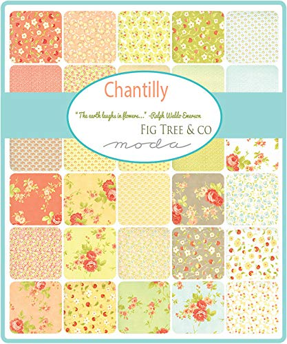 Chantilly Jelly Roll by Fig Tree and Co for Moda Fabrics