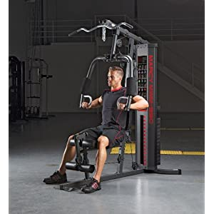 Marcy 150 lb Multifunctional Home Gym Station for Total Body Training MWM 990