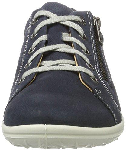 Jomos Allegra, Zapatillas con Cordones para Mujer Azul (Navy)