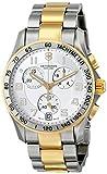 Victorinox Swiss Army Silver Dial Two-Tone SS Chrono Quartz Men's Watch 241509