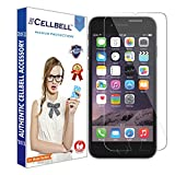 CELLBELL Tempered Glass Screen Protector For Apple iPhone 6 6s With Installation Kit