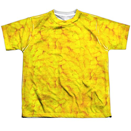 Twitter Bird Costume (Sesame Street Big Bird Costume (FB Print) Big Boys Sublimation Shirt)