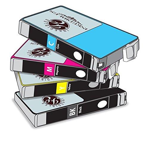 YummyInks Brand YummyInks Brand Edible ink Multi-Pack for Epson T220XL - 4-pack - black, cyan, magenta, yellow