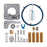 Creality 3D Printer Upgrade Kit with Capricorn Premium XS Bowden Tubing, Upgraded Metal Feeder Extruder Frame,Pneumatic Couplers and Bed-level Spring for for Ender 3/3 Pro/5 CR-10 Series/10S/20/20 Pro