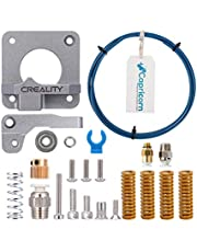 Upgraded 3D Printer Kit with Capricorn Premium XS Bowden Tubing, Upgraded Metal Feeder Extruder Frame,Pneumatic Couplers and Bed-Level Spring for for Ender 3/3 Pro/3 V2/5 CR-10 Series/10S/20/20 Pro