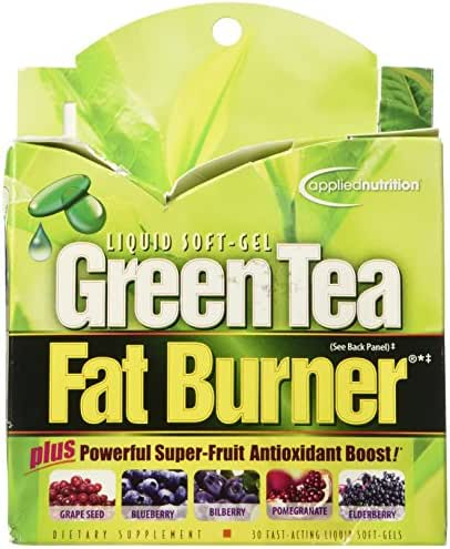 Applied Nutrition Green Tea Fat Burner - 30 Liquid Soft-Gels