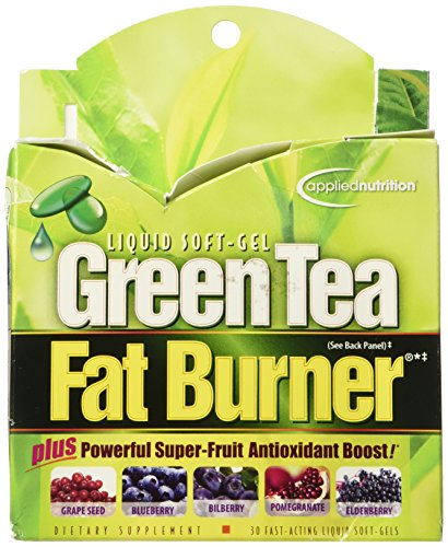 Applied Nutrition Green Tea Fat Burner -- 30 Liquid Soft-Gel