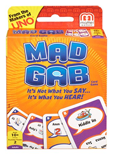 (Mattel Games Mad Gab Picto-Gabs Card Game)