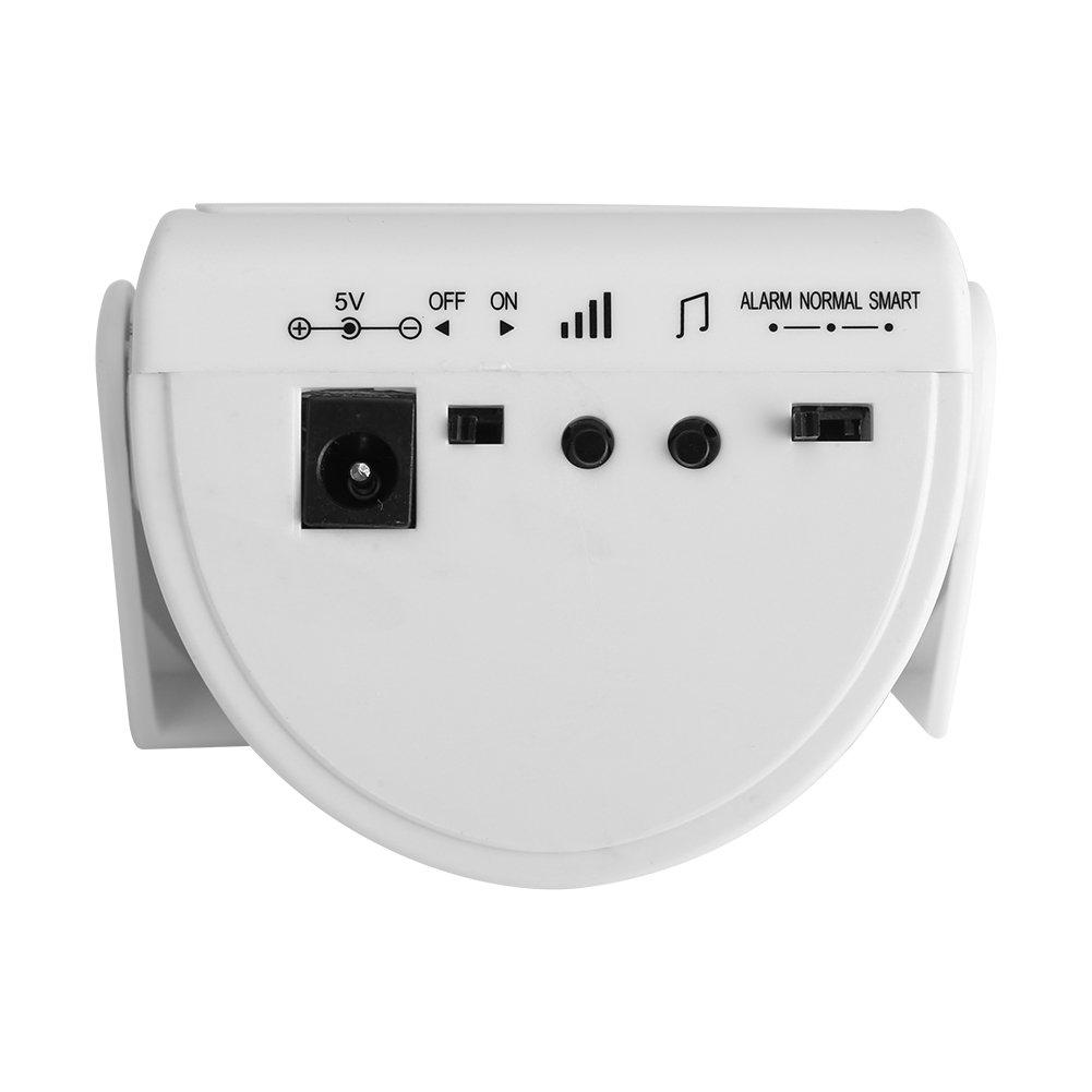 idalinya Timbre Inal/ámbrico Hogar Hotel Hu/ésped Voz Timbre Infrarrojo Sensor de Movimiento M/úsica Alarma Ideal De Seguridad para El Hogar