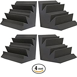 Acoustic Foam XL Bass Trap Studio Soundproofing Corner Wall 12\