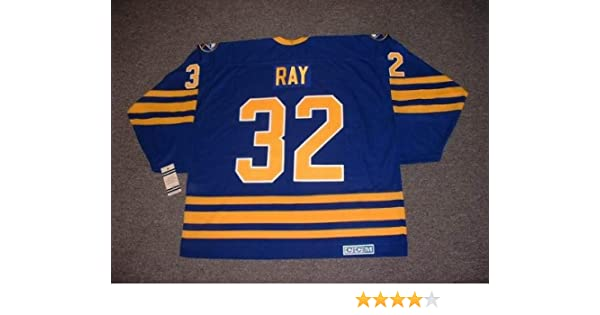 b58f436d6 Amazon.com   ROB RAY Buffalo Sabres 1992 CCM Vintage Throwback Away Hockey  Jersey   Sports Fan Hockey Jerseys   Sports   Outdoors
