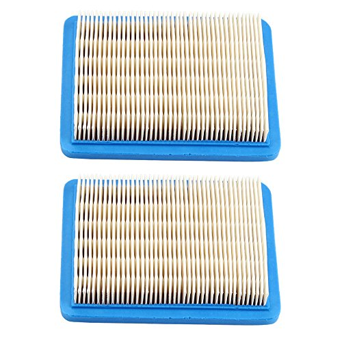 Harbot (Pack of 2 Flat Air Filter for Troy Bilt TB466 TB210 TB230 TB110 TB280ES TB320 TB380 TB380ES TB672 TB449E TB270ES TB866XP TB566 Lawn Mower