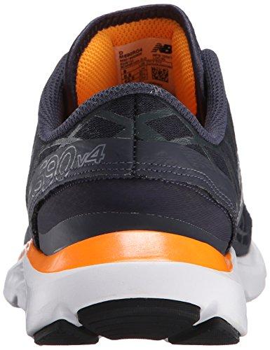 M690v4 Zapatilla De Running Gris / Naranja Nuevos Hombres De Balance Por precio barato 9XO5CY