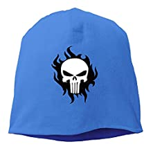 Unisex Cool The Punisher Warm Slouchy Baggy Skull Hat Cap Beanie