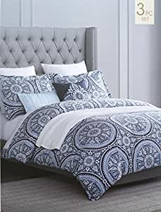 Amazon Cynthia Rowley Bedding 3 Piece Full Queen