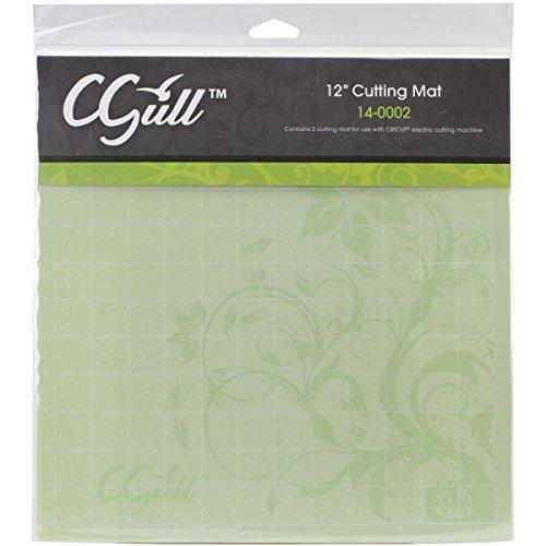 C-Gull Cricut Style Cutting Mat, 12-Inch by 12-Inch