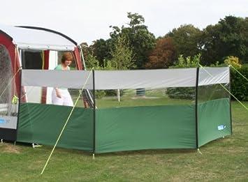 Kampa - Cortavientos para camping, color verde: Amazon.es ...