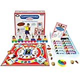 Super Duper Publications Communicate Junior Social Skills Pizza Party Board Game (New Smaller Packaging) Educational Resource for Children