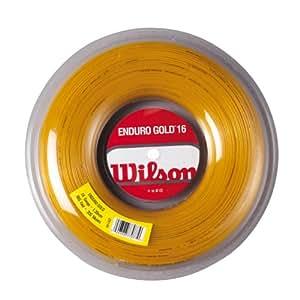 Wilson Enduro Tennis - Raqueta de tenis, tamaño 1.25 mm, color dorado