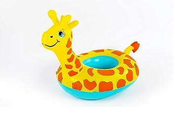 Goodid flotador bebé de animales con asiento y apoyabrazos (Jirafa): Amazon.es: Juguetes y juegos