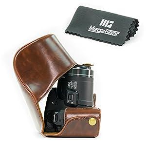 "MegaGear ""Ever Ready"" Protective Leather Camera Case, Bag for Panasonic DMC-FZ200"