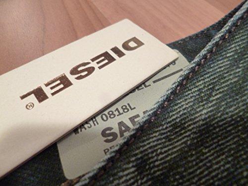 Diesel Safado 0818L W28 L32 Regular Slim Straight Dunkel-Blau Neu!