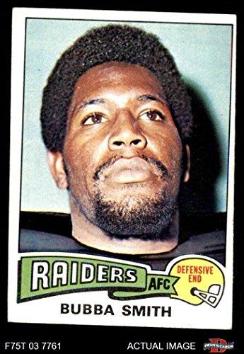 - 1975 Topps # 33 Bubba Smith Oakland Raiders (Football Card) Dean's Cards 4 - VG/EX Raiders