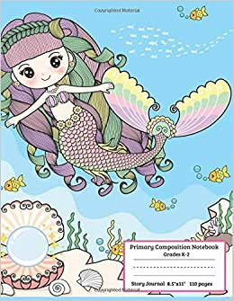 Amazoncom Primary Composition Notebook Grades K 2 Story Journal