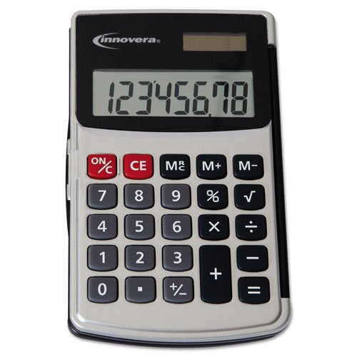 Innovera 15920 Handheld Calculator, 8-Digit LCD by Innovera