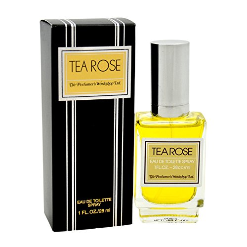 - Tea Rose by Perfumer's Workshop for Women - 1 oz EDT Spray