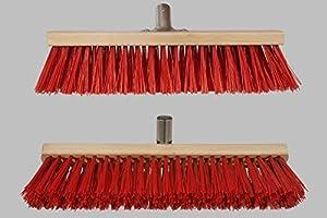 Profi- Straßenbesen mit Metall-Stielfassung (22-24 mm), verschiedene Größen...
