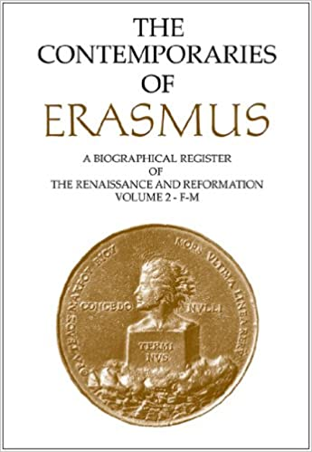 Book Contemporaries of Erasmus: Volume 3 - N-Z: A Biographical Register of the Renaissance and Reformation: N-Z Vol 3
